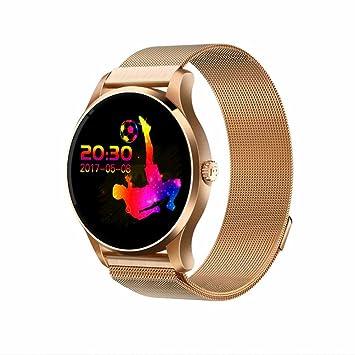 Smart watch Reloj Inteligente Mujer Hombre Reloj Deportivo Pantalla Táctil,podómetro,monitoreo de sueño