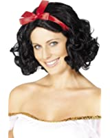 Smiffy's Women's Fairytale Wig with Ribbon Short and Wavy