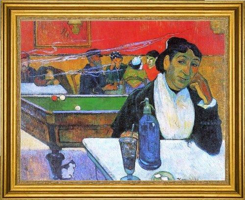 Night Gauguin Cafe - Art Oyster Paul Gauguin A Night Cafe in Arles (Madame Ginoux) - 16.05