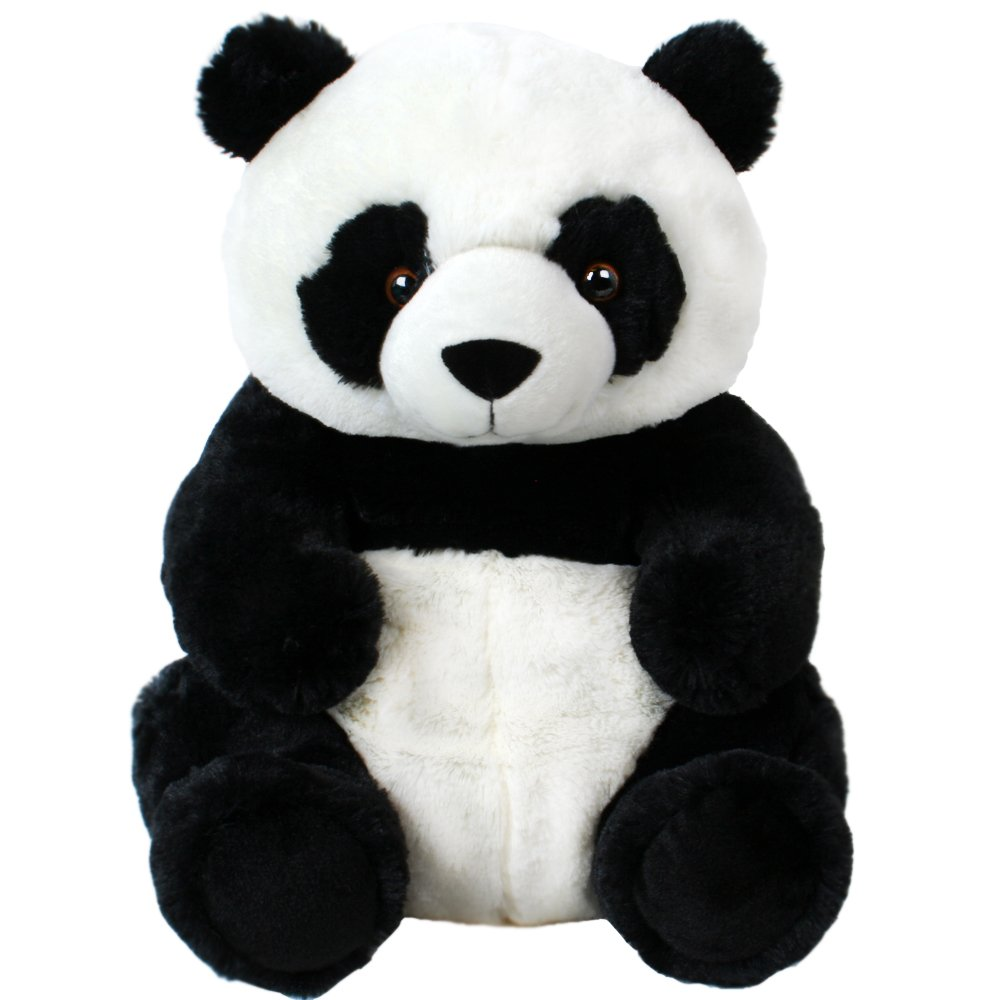 Panda Peluche Peluche Panda Sentado plüschpanda Oso de peluche 33cm: Amazon.es: Juguetes y juegos