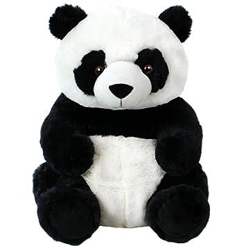 Panda Peluche Peluche Panda Sentado plüschpanda Oso de peluche 33cm