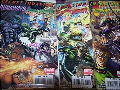 Secret Invasion Runaways Young Avengers #1,2,3 of 3 Complete