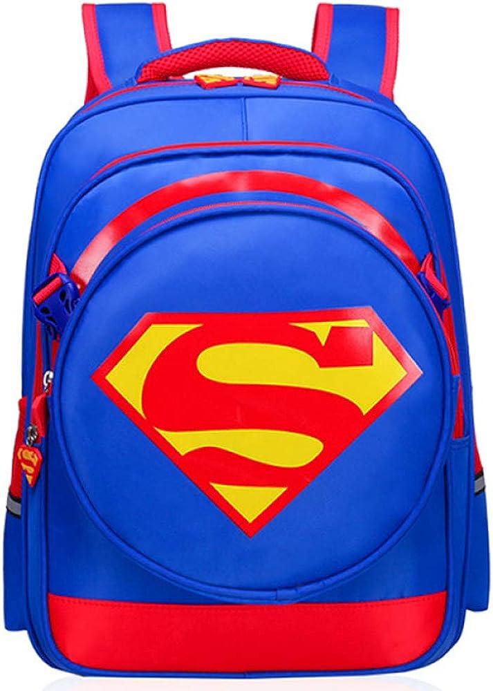 Hombre De Hierro Superman Mochila Escolar Para Niños Mochilas Para Adolescentes Para Niños Y Niñas Mochilas Impermeable Escolares Desmontable