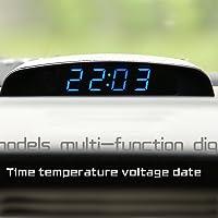 PolarLander 12V del Coche 3 en 1 Reloj