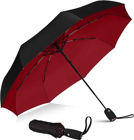 Best Inverted Umbrella Violent Barbaric Cow Portable Compact Folding Umbrella Anti Uv Protection Windproof Outdoor Travel Women Kids Rain Umbrella