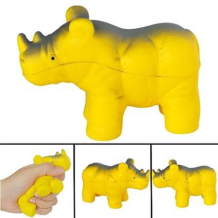 ALIKEEY Adorable Rinoceronte Perfumado Encanto Lento Aumento ...