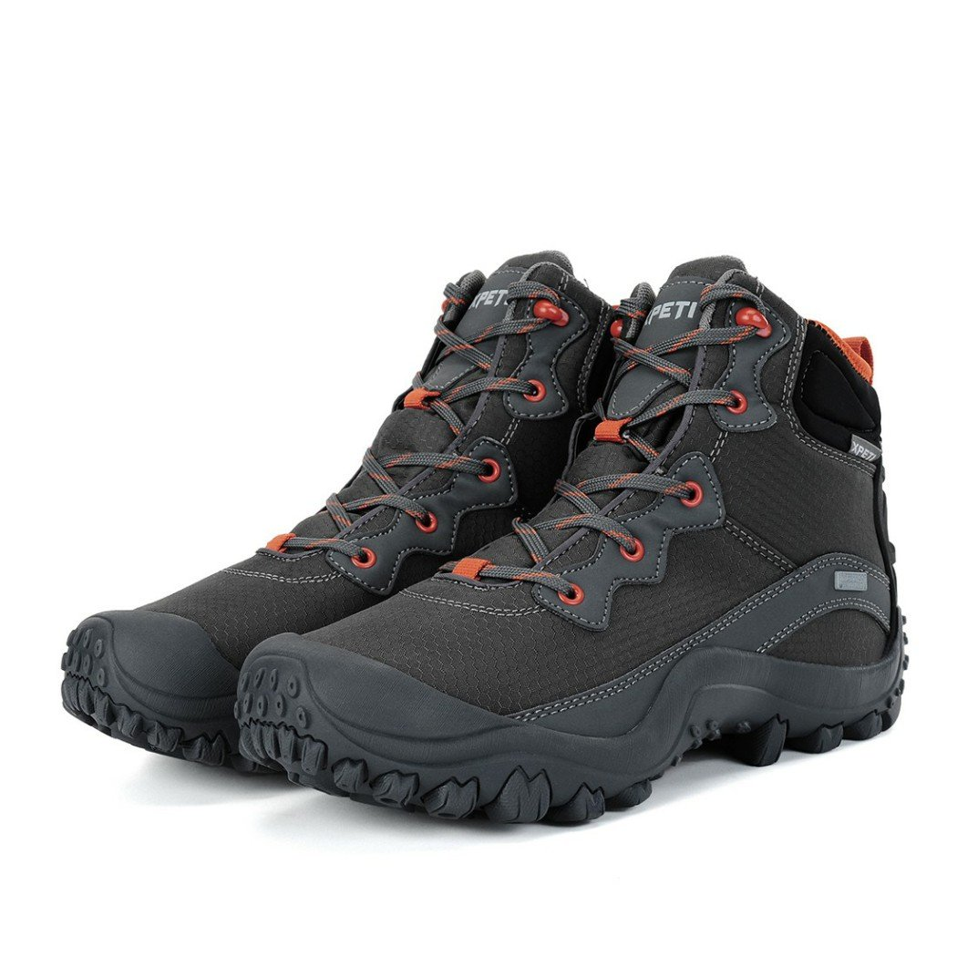 56819c5cf44 XPETI Mens Dimo Mid Waterproof Hiking Trail Outdoor Boot - citwebdev ...