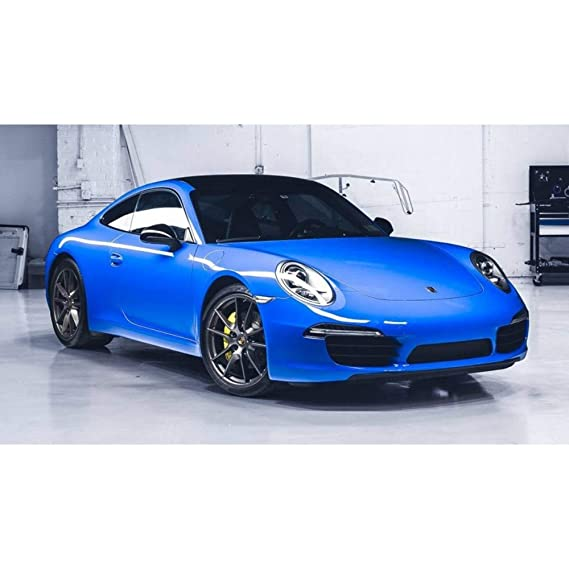 Avery SW900 Gloss Intense Blue | 667-O | Vinyl CAR WRAP Film (5ft x 20ft (100 Sq/ft)) w/Free-Style-It Pro-Wrapping Glove: Amazon.es: Coche y moto