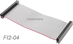 "CablesOnline 4-inch 44-Pin Female/Female 2.0mm Pitch Laptop 2.5"" Hard Drive Ribbon Cable, FI2-04"