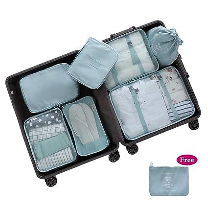 DDOQ Tidy Packing Cubes 8 Set, organizador de equipaje de ...