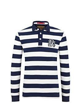 Polos à manches longues Front Up Rugby verts homme 89PSSFsi6