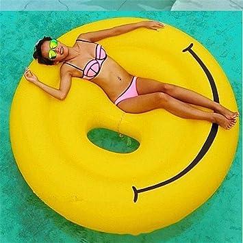 Piscina Inflable flotador Gigante Inflable Cara Sonriente ...