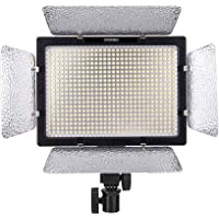 YONGNUO YN600L 600 LED 5500K Color Temperature Adjustable LED Video Light for Canon / Nikon / Sony Camcorder DSLR