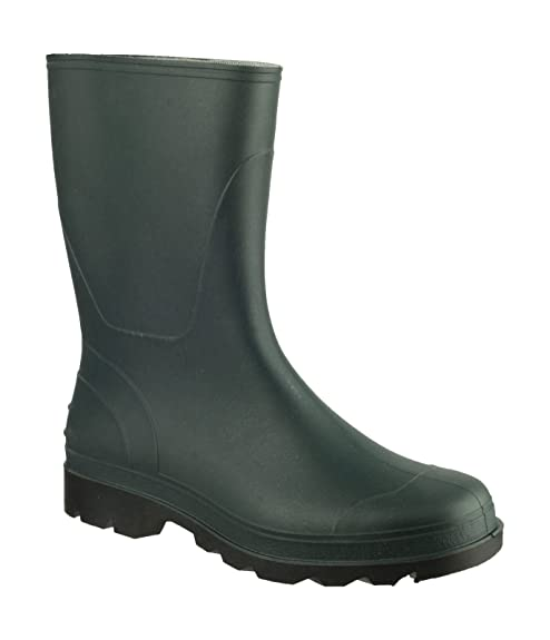 Cotswold Ladies Frome Pull On Rubber Welly Wellington Boot Green