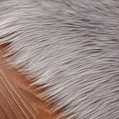 Faux Fur Rug Soft Fluffy Rug 60 X 90 Cm Shaggy Rugs Faux