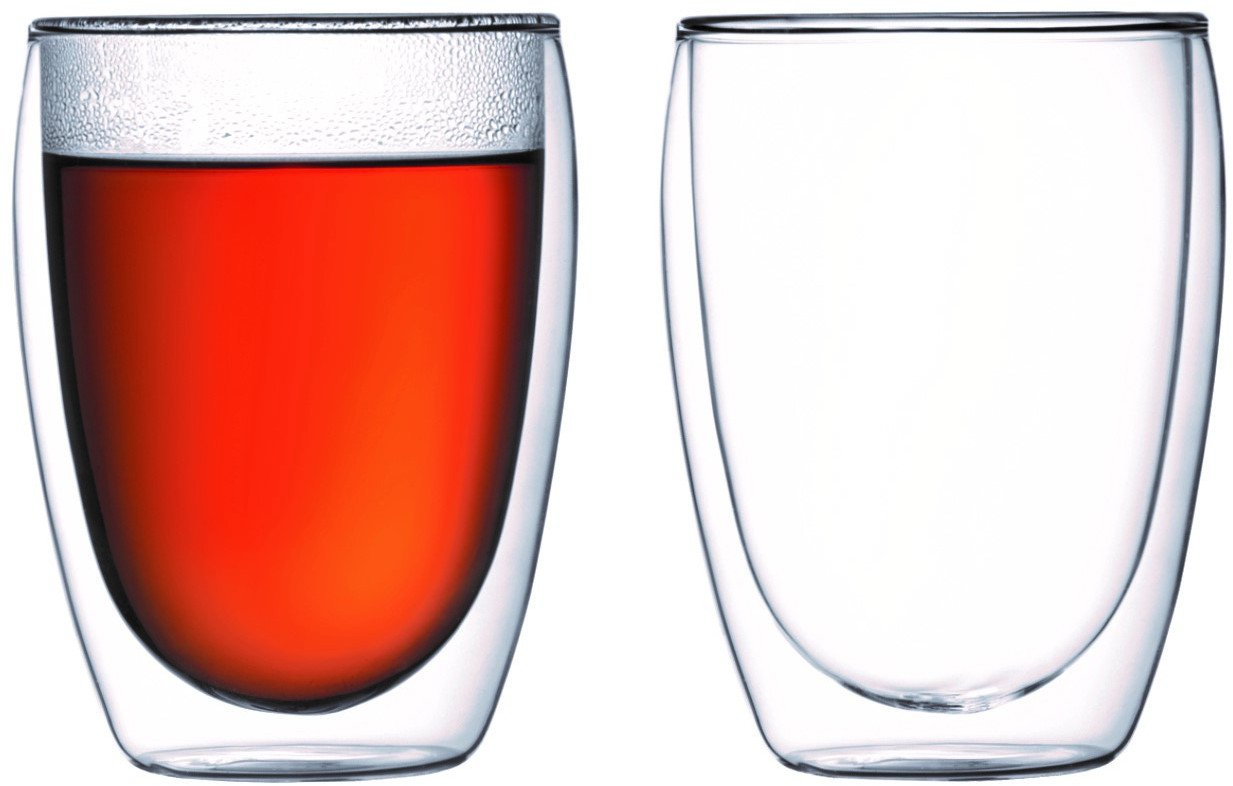Bodum Pavina Double Wall Cooler/Beer Glass - Set of 2