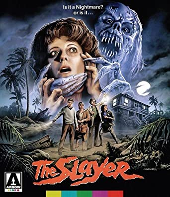 The Slayer  Disc Special Edition Blu Ray Dvd
