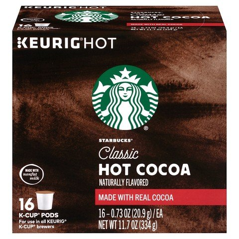 Starbucks Classic Hot Cocoa K-Cups 16 Count (16) (Hot Cocoa Keurig K Cups compare prices)