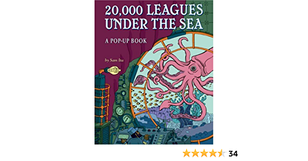 20 000 Leagues Under The Sea A Pop Up Book Ita Sam 9781402757761 Books Amazon Ca