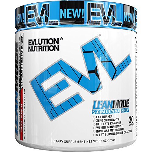 Evlution Nutrition Lean Mode Stimulant Free Weight Loss Supplement with Garcinia Cambogia, CLA and Green Tea Leaf extract (30 Serving, Fruit Punch)