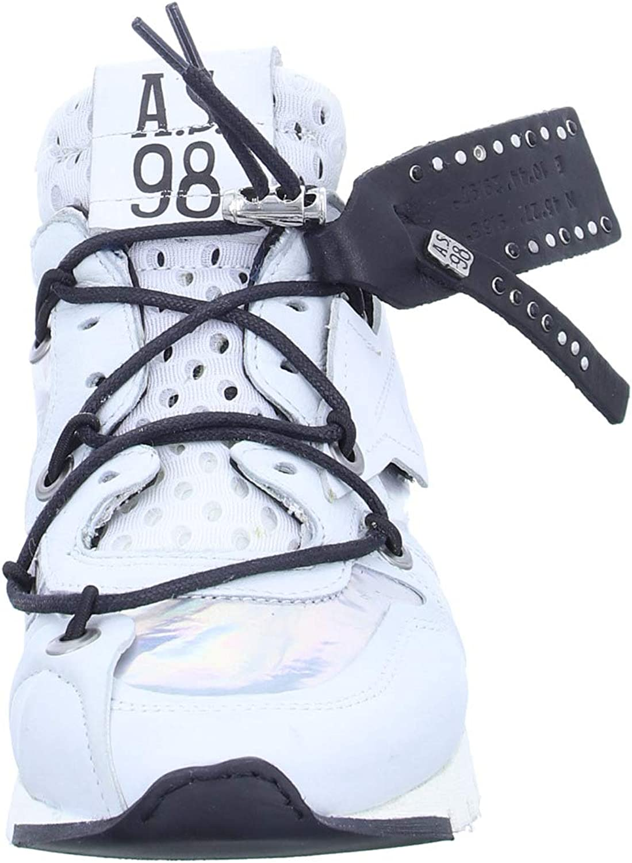 A.S.98 A13101 Sneaker Combi 18 Bianco Combi 18 Bianco