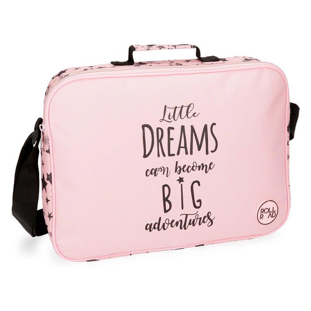 Roll Road Dreams Pink Mochila escolar, 38 cm, 6.38 litros, Rosa