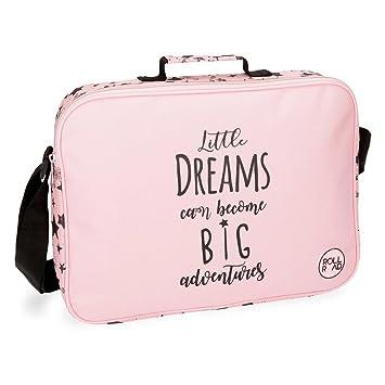 Roll Road Dreams Pink Mochila Escolar, 38 cm, 6.38 litros, Rosa: Amazon.es: Equipaje