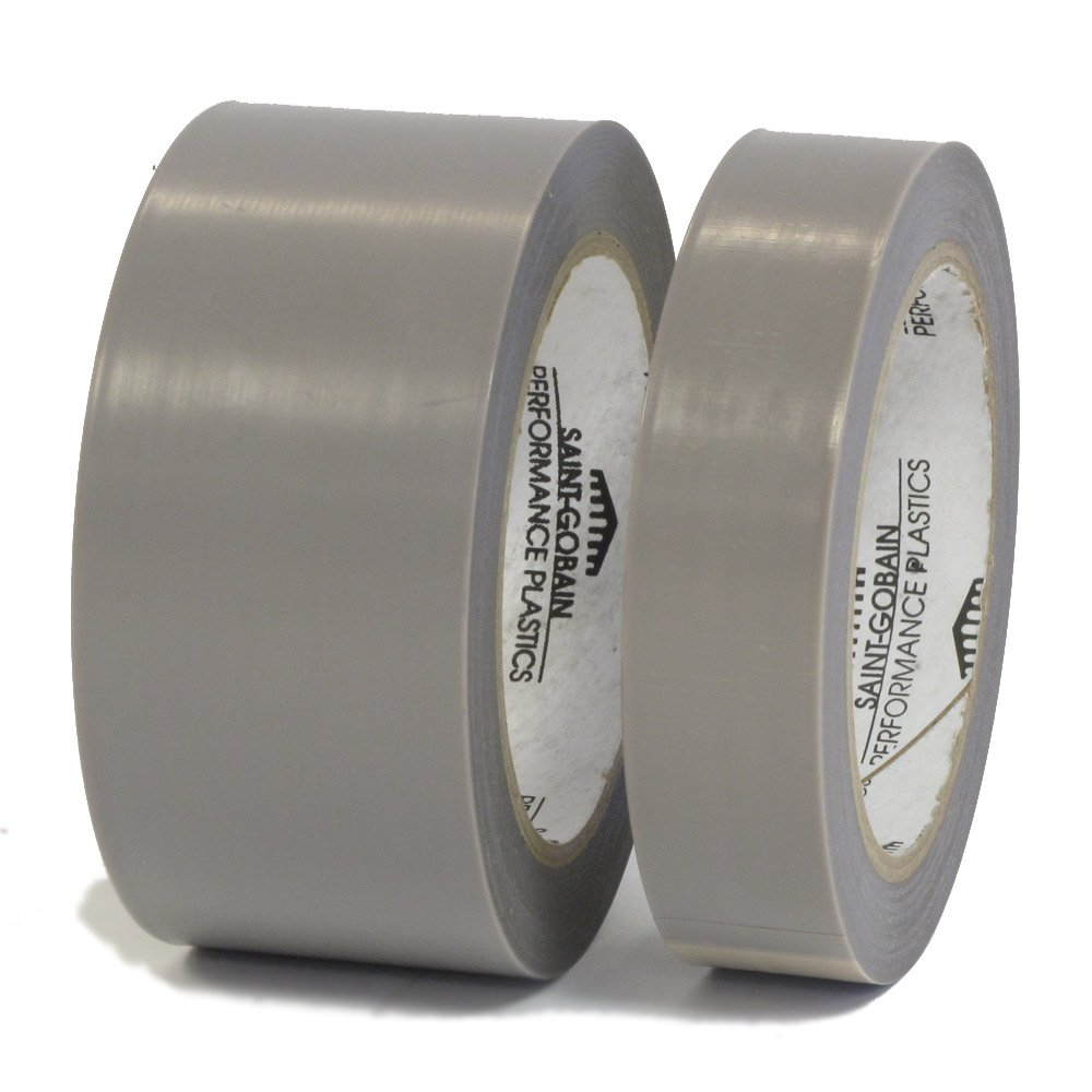 Saint Gobain 2045-3 Professional Industrial High Temperature Skived PTFE Film Tape - 4 Inch X 36 Yards - 2 Rolls per Case