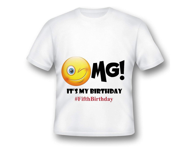 Personalized Emoji Birthday T Shirt Party