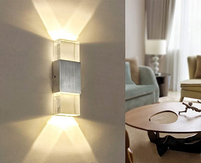 Unimall led beside wall sconce lamp up and down w indoor wall