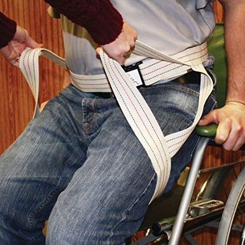 Patterson Medical Transfer Sling and Gait Belt - Size Small/Medium by Physical Therapy Aids