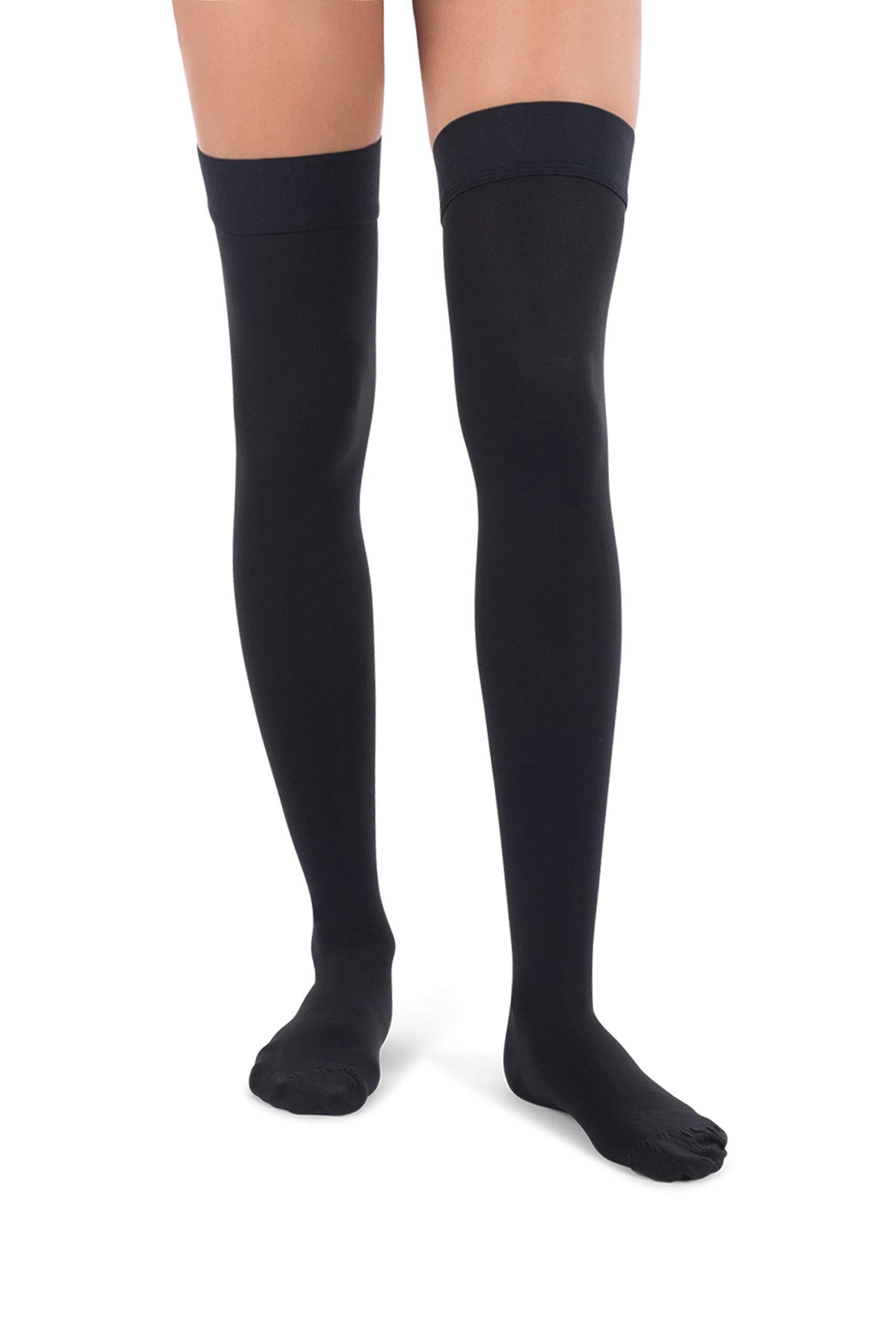 2615fd5cc45 Amazon.com  Jomi Compression Thigh High Stockings Collection
