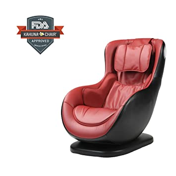 compact kahuna massage chair hani2200 red