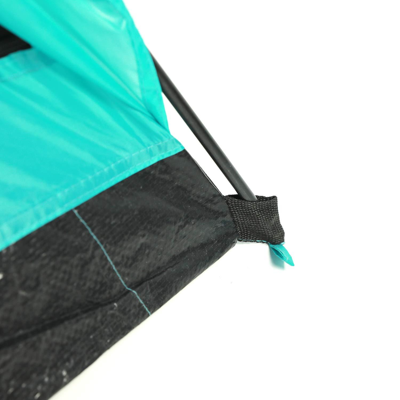 acampada camp I Dise/ñada en California resistente al agua senderismo excursionismo Fe Active EE.UU. Tienda de campa/ña para 4 personas con entrada apantallada f/ácil montaje ideal para acampar