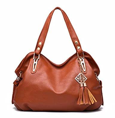 Amazon.com: 2016 female new fashion High Products Luxury Handbag Tote ladies PU Leather Hobo Shoulder Bag women Messenger Bags 6 colors Z-16: Clothing