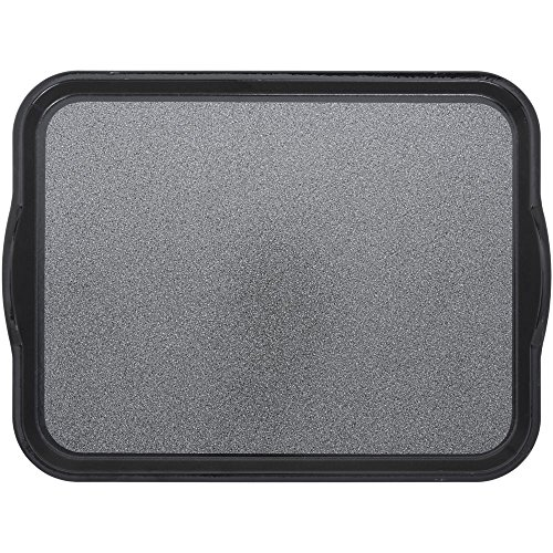 Cambro Versa Camtray Pearl Grey Fiberglass Nonskid Tray with Handles - 18