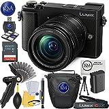 Panasonic Lumix DC-GX9 Mirrorless Micro Four Thirds Digital Camera with 12-60mm Lens (Black) + 32GB Memory + K&M Basic Photo Accessory Bundle