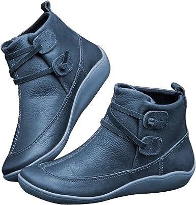 Women's Snow Boots,WUAI Women Arch