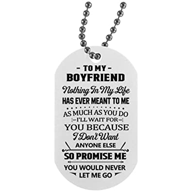 Amazon Boyfriend Necklace Customized