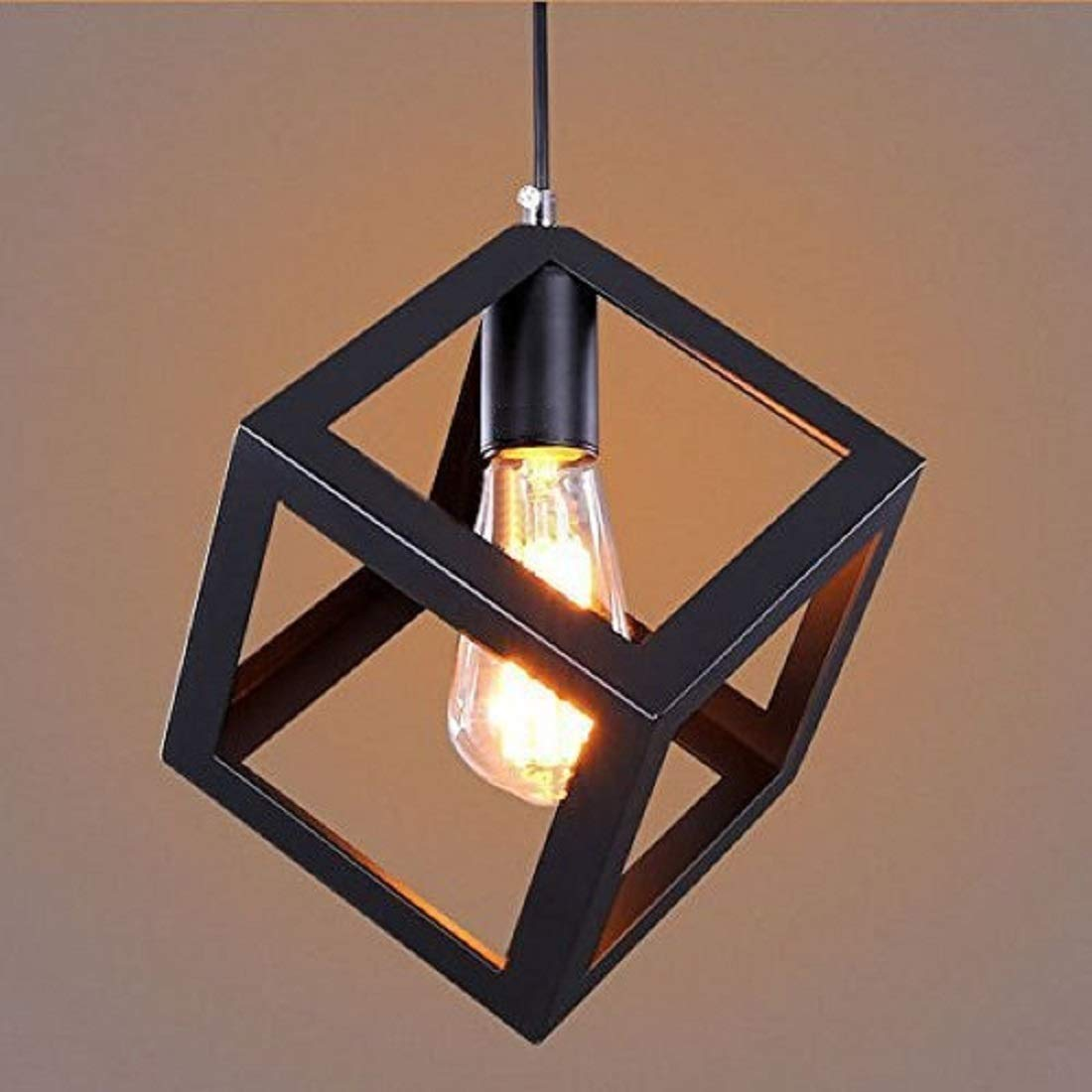 Groeien 60W Ceiling Light, Black, Square(Buy 2, Use Coupon Code INDIDES15OFF to get ₹80 Cashback)