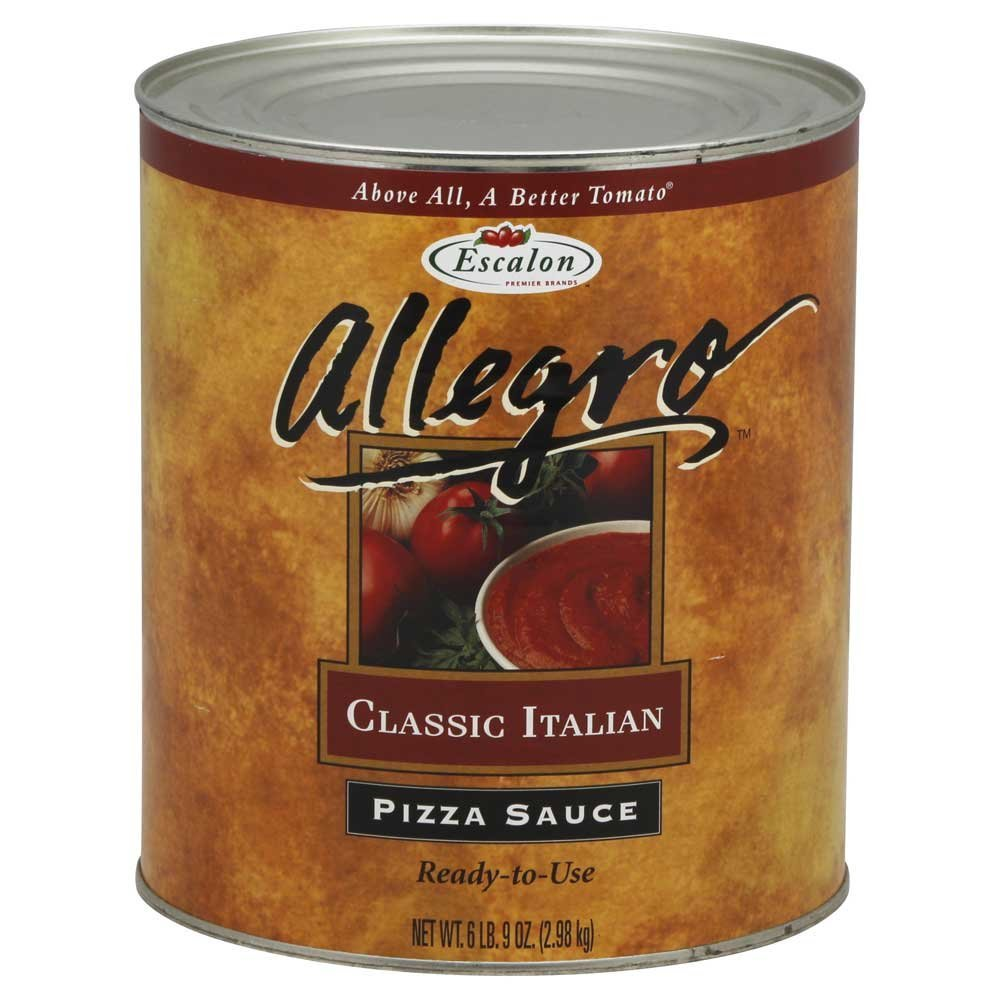 Heinz Allegro Classic Italian Pizza Sauce, 105 Ounce -- 6 per case.