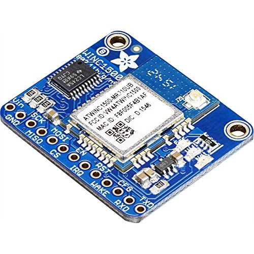Adafruit ATWINC1500 WiFi Breakout with uFL Connector - fw 19.4.4 (Create A New Ad Hoc Wireless Network)