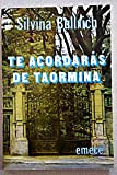 img - for Te acordar s de Taormina. Novela. book / textbook / text book