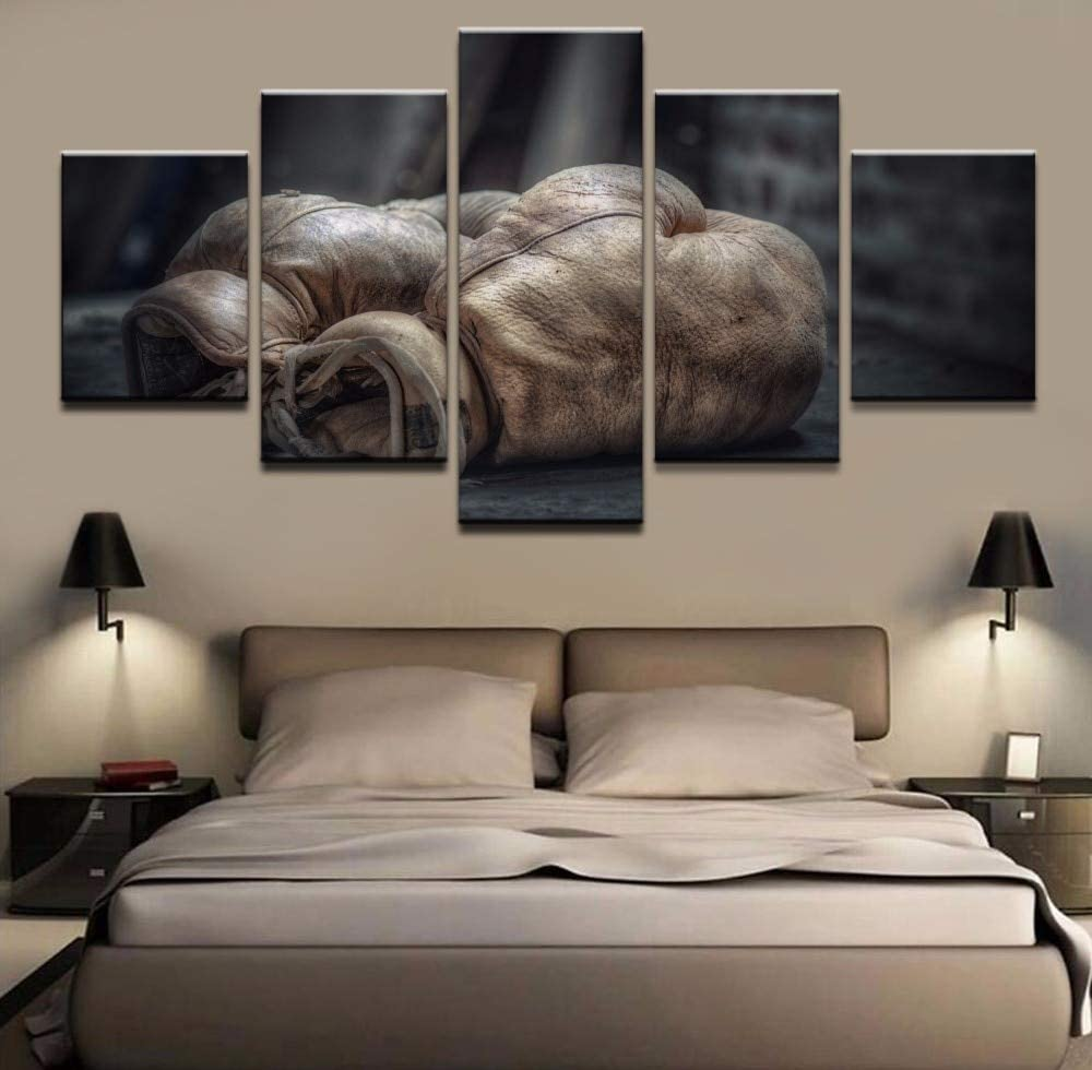 Zhuhuimin 5 HD imprimible Car Print Picture Poster Painting Canvas Wall Art Picture Decoración del hogar Living Room Canvas Painting Frame