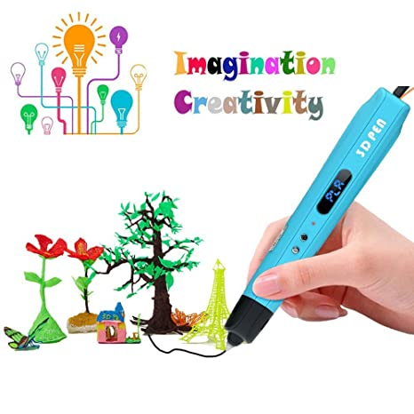 XYZprinting da Vinci 3D Pen - Environmental Friendly (Includes: Non-Toxic  PLA Filament