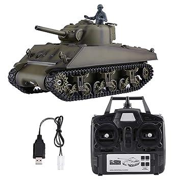 1 Modelo M4a3 Dilwe Sherman 3898 116 De Long 4ghz Tanque 2 RcHeng tsrChdQ
