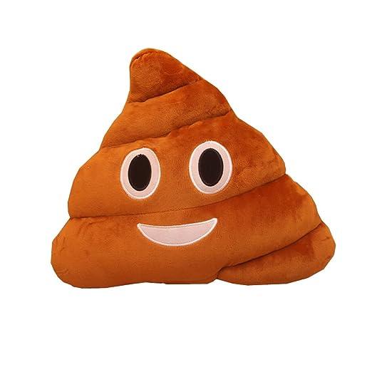 yookoon 1pieza gran sonrisa caca mierda caca almohada Emoji ...