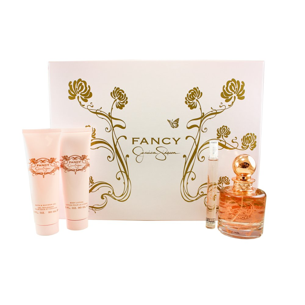 Jessica Simpson Fancy 4 Piece Gift Set For Women