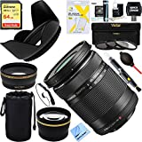 Olympus M. Zuiko 40-150mm f4.0-5.6 R Lens - Black (V315030BU000) + 64GB Ultimate Filter Bundle