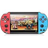 (100pcs)X1 4.3-Polegadas Handheld Game Console Retro Portátil Game Console 8G Built-In 10 000 Jogos Clássico Nostálgico Dual-